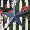Colonial Blue Metal Barn Stars