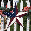 Old Glory Metal Barn Stars Solid Finish