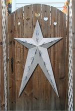Long Metal Barn Stars
