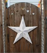 Rustic Galvanized HEAVY DUTY Metal Stars