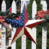 Americana Metal Barn Star Rustic Finish
