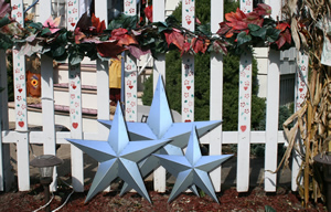 72 Inch Unfinished HEAVY DUTY Metal Barn Stars