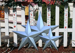 10 Inch Unfinished HEAVY DUTY Metal Barn Stars