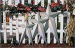 16 x 27 Inch Unfinished HEAVY DUTY Long Metal Barn Stars