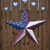 Old Glory Vintage Metal Stars